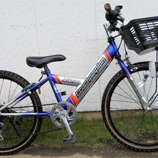 ブリヂストンの中古マウンテンバイクジュニア22インチBAA外装6段