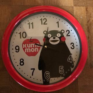 くまもんの掛時計