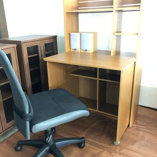 折り畳みデスク➕チェア 省スペースで設置 収納 学生さんの勉強会・...