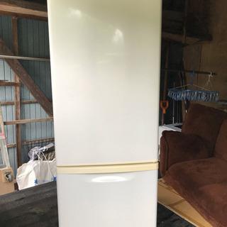 パナソニック ノンフロン冷凍冷蔵庫 NR-B173W-W 2011年製