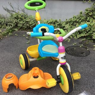三輪車 アイデス しまじろう 幼児 おもちゃ 屋内保管