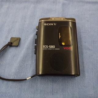 ソニー SONY ステレオカセットレコーダー TCS-580 ス...