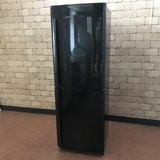 S71 美品 中古 ブラック 2ドア 三菱ノンフロン冷蔵庫MR-...