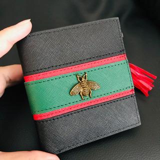 虫モチーフの折財布★新品・未使用品 使いやすいです◡̈⃝︎