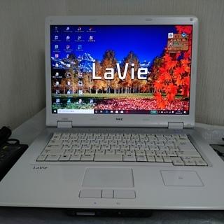 ☆SSD搭載で快適☆ NEC Lavie 15インチ ホワイト W...