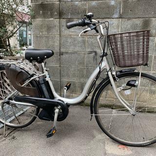 ヤマハPAS Natura  4Ah シルバー  電動アシスト自転車