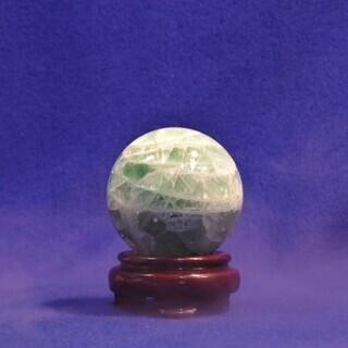 フローライトボール 蛍石の丸玉 鉱石標本 Φ80㎜