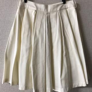 【夏に大活躍】白いコットンスカート