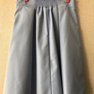 【夏にぴったり】【MISCH MASCH】水色きれいめスカート