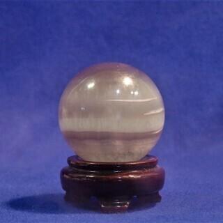 フローライトボール 蛍石の丸玉 鉱石標本 Φ75㎜