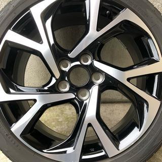 CH-R ホイール タイヤサイズ 215-45 R18 中古品 ...