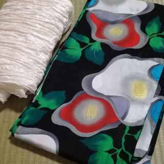 浴衣と帯のセット