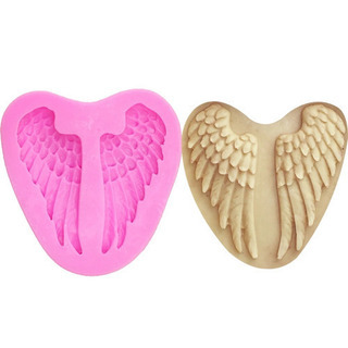 シリコンモールド 型 天使の羽 レジン ハンドメイド エンジェル