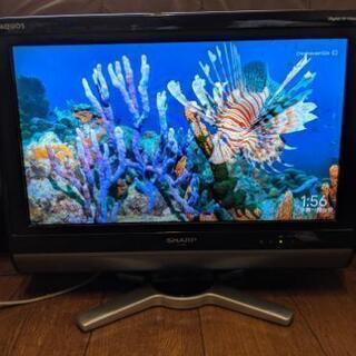 液晶テレビ シャープ AQUOS 20型