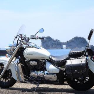 バイク スズキ イントルーダークラシック400 アメリカン