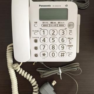 74 Panasonic 電話機 VE-GD23-W