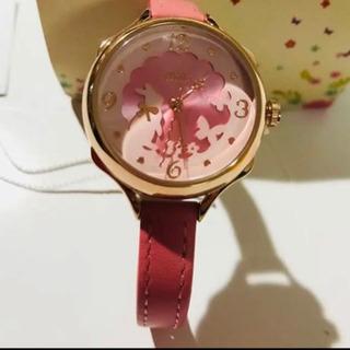 ウサギ ガールズ レディース 腕時計本革 ベルト キッズ ウォッ...
