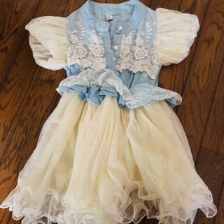 ワンピース風ドレス