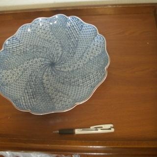 たち吉製青絵平皿あげます