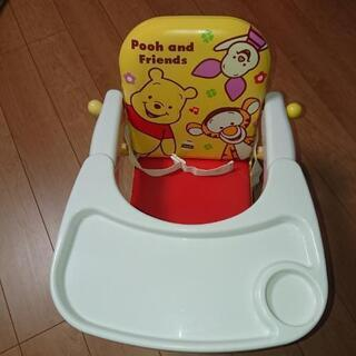 【値下げ】幼児チェアー プーさん テーブル付