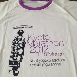 【新品】第1回京都マラソンTシャツ
