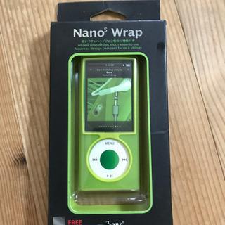 値下げ! iPod nano5 ケース ライトグリーン 新…