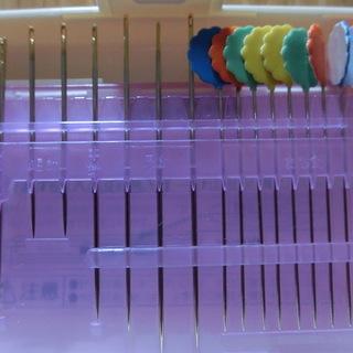ミシン針と縫い針