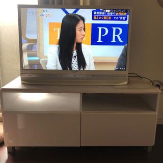 【TV台付】32型 テレビ SHARP LC 32DR9
