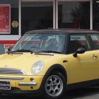 MINI MINI!! 黄色でかわいいですよ!!