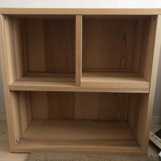 【IKEA】木目調/収納box