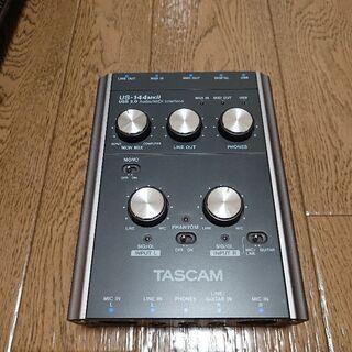 オーディオインターフェース TASCAM US-144MK2 (...