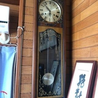 大きな古時計  値下げしました。