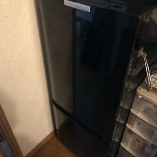 三菱 146L 冷蔵庫(サファイヤブラック)