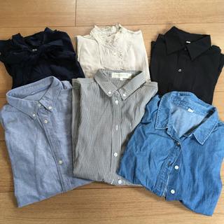 【ワンコイン】ワイシャツ6枚セット!