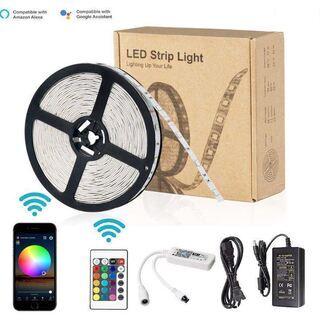 【新品】 LEDスマートテープライト Alexa/Google H...