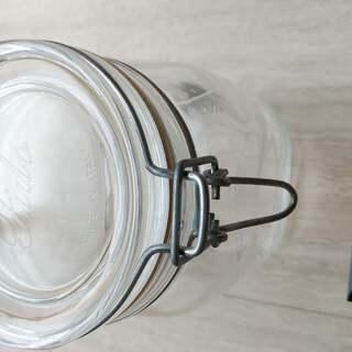 無印良品 ソーダガラス密封ビン約1000ml