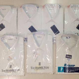 半袖 白 ワイシャツ カッターシャツ 7着セット HAMILTO...