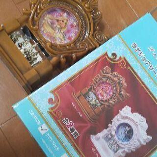 ラプンツェル 時計 ディズニー 箱あり