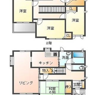 高級住宅♫希少4SLDKで駐車場2台付き♫駅まで徒歩圏内♫