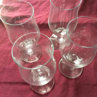 ビールグラス、ワイングラス 4つ