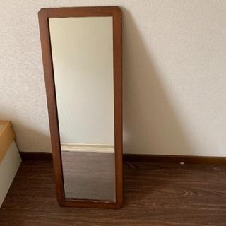 木枠の姿見(全身鏡)