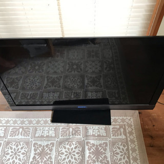 SONY 46インチ 液晶テレビ 液晶割れ 画面割れなし