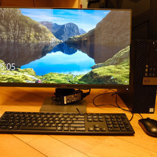 とても良い状態の大容量HDDとモニター Dell OptiPlex...