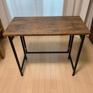 折りたたみテーブル 横80×縦40×高さ70