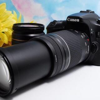 【ハイクラス一眼レフ!】Canon EOS 70D ダブルレンズ