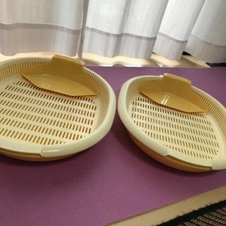 鍋トレー 盛り皿、お弁当箱×2