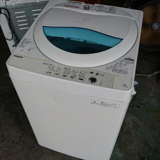 ☆TOSHIBA全自動洗濯機5kg2017年製
