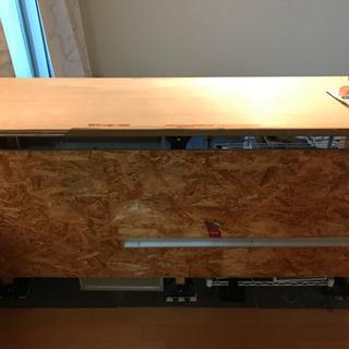 DIYターンテーブルが置ける棚