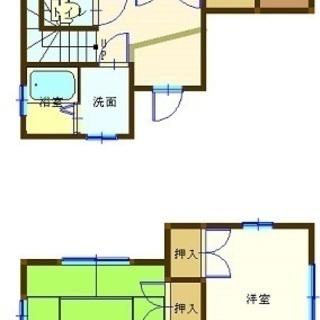 熊谷市押切第三貸家5.5万円3DK 内装外装フルリフォーム
