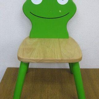 pin Furniture 木製 カエル イス 子供用椅子 キッ...